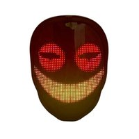 Halloween Party Gift DIY Face-changing Recharge LED Light Up Mask for Face Masquerade Costumes Cosplay Parties