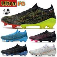 Mode Ultra 1.2 FG Mannen Voetbal Schoenen Zwart Mutli-Color Purple Volt White Football Cleats Rood Helder Blauw Luxe Mens Designer Sneakers Trainers Laarzen