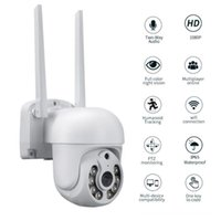 Camcorders 1080P 2MP PTZ WiFi IP Wireless Camera Outdoor Home Security Speed Dome CCTV Video Surveillance Night Vision Cam
