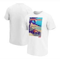2021 Nueva Fórmula One F1 Racing Traje Equipo Ventiladores Cuello redondo Camiseta de manga corta Secado rápido Traje de equipo Motocicleta Hombres y mujeres Transpirable