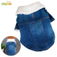 Winter Dog Clothes Coat Jacket Jeans For Small Warm Denim Dogs Cats Pet 25 Apparel