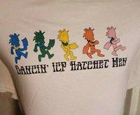 T-shirt Streamin T-shirt ICP Bande Funny Dancing Style de mode