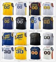 Jerseys de basketball imprimé 00 Jonathan Kuminga 4 moses Moody Stephen Curry 30 Juan Toscano-Anderson 95 Nico Mannion 2 DrayMond Green 23 Poole 3 Otto 22 Porter Jr.