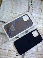휴대 전화 케이스 아이폰 13 미니 13 Pro Max Magsafe 기능을위한 실리콘 공식 케이스