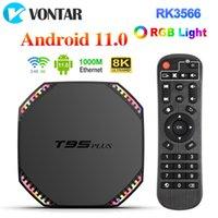 VONTAR T95 Plus TV Box Android 11 8GB RAM 64GB Rockchip RK3566 Support 4K Wifi 1000M LAN 4GB 32GB Media Player T95Plus TVBOX