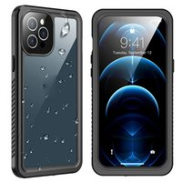 Waterproof Cases For Iphone 13 Pro Max Built-in Screen Protector Full Body Shockproof Protective Cover