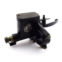 Motorcycle Brakes Front 50-250CC Cylinder Hydraulic Clutch Scooter Buggy Dirt Bike Brake Lever Handle Universal Quad Moped Left Right