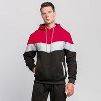 Herren Hoodies Mode Designer Farbe Matching und WO Freizeitsport Top Sweatshirts Perfekt für Jeans und Hosen