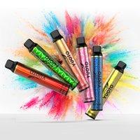 Original Yuoto Luscious 3000Puffs Engångs E-Cigarette Vape Paps Patron Kit 3000 Puffs 8ml Real Zinwi E-Liuid 1350mAh Batteri Youto XXL Plus Shine 1500 bubbla