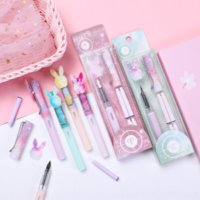 SQM twelve constellations pen set cute calligraphy study fountain pens learning and learningsuper cute girl heart students practice calligr