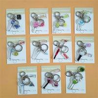 KPOP NCT Izone Roter Samt Ikon produzieren 101 x 1 Schlüsselanhänger Schlüsselketten Kettenring Schlüsselanhänger Anhänger Fans Gilfs Großhandel Neue Y0414
