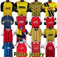 Arsen Retro Highbury Futbol Forması 2000 02 03 2014 Ev Futbol Gömlek Pires Henry Reyes 1983 86 88 Bergkamp 1990 92 93 95 Adams 98 99 Galla