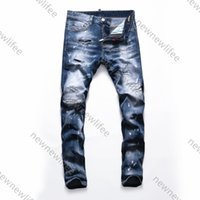 2021ss designer jeans ainfor Balm men's slim-fit ripped pants great quality man designers clothes spring plus size mens jeans 3WYI