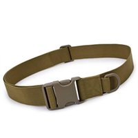 Belts Men Casual Military Mountaineering Plastic Buckle Adjustable Waist Support Outdoor Sports Tactical Belt Indoor Nylon Canvas
