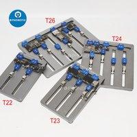 Ensembles à outils de la main professionnelle Mijing T22 T23 T24 T26 T24 T26 Titulaire de la carte PCB universelle pour téléphone portable carte mère Puce de puce de puce de puce