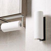 Suportes de papel higiênico Toalha de aço inoxidável rack de cozinha rolo de cozinha auto-adesivo Acessórios toliet