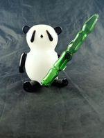 Großhandel Panda Rig, Rauchen Zubehör Benutzerdefinierte Glasbong-Schüssel für den freien Transport.14mm