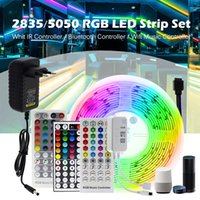 LED Strip Light RGB 5M 10M 20M TUYA SMART SMART RGB Couleur Échangable Flexible Flexible Light Bluetooth Control Rubb Rub.
