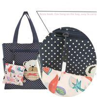 Multi funzione Shopping Tote Bags Strawberry Pieghevole Organizzatore Bella borsa di verdure di frutta riutilizzabile 18 stili OWA4694