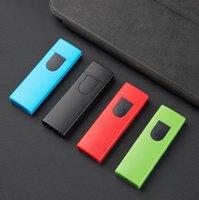 Аккумуляторная электронная сигарета USB USB Беспламенное сигарное прикосновение Зажигалка 5 Цветов Выберите Курение Индуктивные Зажигалки Инструмент Аксессуары