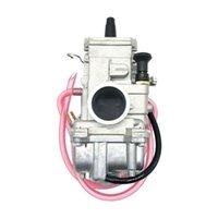 TM / TMX Düz Vana Carb 32mm 32mm TM32-1 TM 13-5042 TM32FS Slayt Karbüratör Motosiklet Yakıt Sistemi