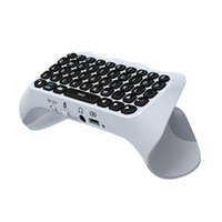 Keyboards For PS5 Handle Controller Keyboard, Gamer Digital Mini Wireless Bluetooth Keyboard Chat Pad Playstation 5