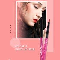Lip Pencils Liner Matte Pencil Waterproof Moisturizing Lipsticks Long Lasting Lips Cosmetic Pen 5 Color