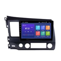 10.1 Inch 2Din Android Car dvd Radio 8-Core Player HD 1024*600 Tochscreen GPS Multimedia For 2006-2011 Honda Civic
