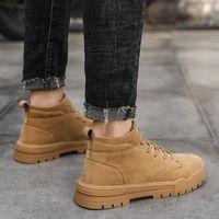 Bottes Mens Sapatos Coturno Sneaker Sneakers Sneakers Fashion Botas Noir sur Homme Robe Cause Causale Causale de Hombre 2021 Sports Cuero Hommes