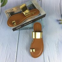 Slippers Fashion Sexy Set Toe Roman Style Flat Solid Color 2021 Summer Outdoor Female Plus Size Women Beach
