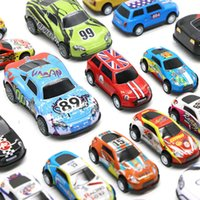 Children's toy mini inertia recoil car simulation alloy racing model hot selling gift03PA