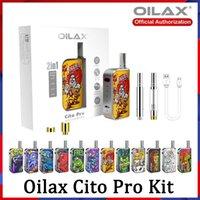 100% authenti herax CITO pro Atomizers Vape Stylo 2 en 1 Kit de démarrage Kit électronique Cigarette électronique 400mAh Voltage variable Voltage Préchauffe Batterie Vol