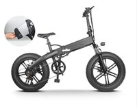 [Poland Stock] M012 Foldable Electric Bicycle 20 Inch Tire Ebike 500W DC Motor 35km h Removable Battery Mountain Bike