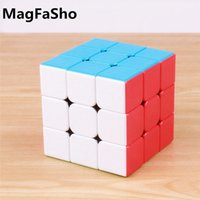 Shengshou 3x3x3 ماجيك مكعبات جوهرة شاملة متجمد سطح اللغز المهنية ثلاث طبقة سرعة 3 على 3 مكعب مونتيسوري اللعب
