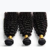 Индийские вьющиеся волосы необработанные индийские kinky кудрявые человеческие волосы плетение пучки 3 шт. Лот 8а сорт индийский Джерри кудри наращивание волос натуральные черные