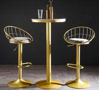 Meubles de Bar Мебель Северный стул Табурете Cocina Golden Checkout Counter Высокий стул Современный подъем вращающийся