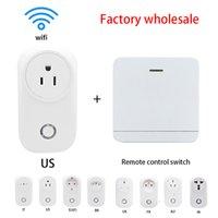 Seetega WiFi Smart Presa IT / Stati Uniti / EU / BR / UK / FR / AU / IN / AU Socket di potenza wireless Plug Socket Home Switch Work 433