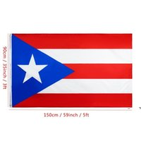 جديد 90x150 سنتيمتر بويرتو ريكو العلم الوطني شنقا أعلام لافتات البوليستر بويرتو ريكو العلم راية في الهواء الطلق داخلي كبير العلم الديكور EWE7615