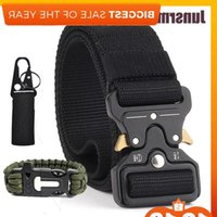 New High-quality nylon tactical wear-resistant, outdoor adventure belt, military equipment easy to unlock J1223