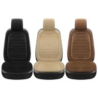 Car Seat Covers Cover Plush Front Protective Cushion Automobile Protector Pad Mat Protect 3 Colors