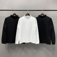 Uzun Kollu Alys T-shirt 20fw Erkek Kadın Boyun Çizgisi 1017 9SM Tee 1: 1 Yüksek Kaliteli Turtleneck T-Shirt Asya Boyutu Erkekler Tops