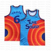 Space Jam 2 Tunes Squad Movie Menor James Jersey Bugs Bunny Michael D.Duck! Taz 1/3 Tweety 22 Bill Murray X2 10 LOLA Baloncesto Jerseys