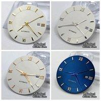 33 мм Стерильные часы циферблат + часы Руки Fit Miyota 8205/8215 / 821A / 82 серии Mingzhu DG2813 / 3804