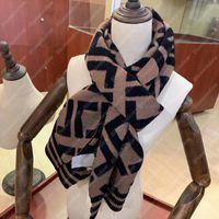 21 Winter Designer Sciarpa F Sciarpes per Uomo Donne Lettera Lusso Mens Cashmere Lana Designer Silk Designer Scarvs Designer Designer Sciarpa Donna B2109013L