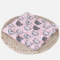 طفل موسلين قماط البطانيات القطن الصيف المناشف حمام طفل يلف الحضانة الفراش الرضع التقويم الجلباب لحاف Z1616 664 Y2
