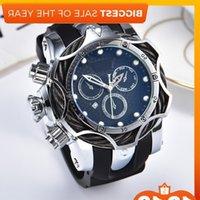 Joker Big Dial Rubber Strap Oversized Men Quartz Classic Brand Designer Sports Waterproof Watches