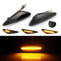 Smoke LED Dynamic Flowing Side Marker Turn Signal Light For 6 GH 5 CW RX-8 Sequential Lamp Emergency Lights