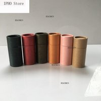 Cadeau cadeau 1 pcs boîte d'huile essentielle bouteille de papier kraft tube boîte boîte en carton pour emballage de thé stockage alimentaire