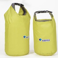 Outdoor Bags 2Pcs PVC Waterproof Diving Compression Storage Bag Dry For Man Women Swimming Rafting Kayak 2L+ 4L