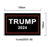 90 * 150cm Trump 2024 Flag Imprimir América Bandeira Jardim Donald Flags Poliéster Decoração Banner GGA5042